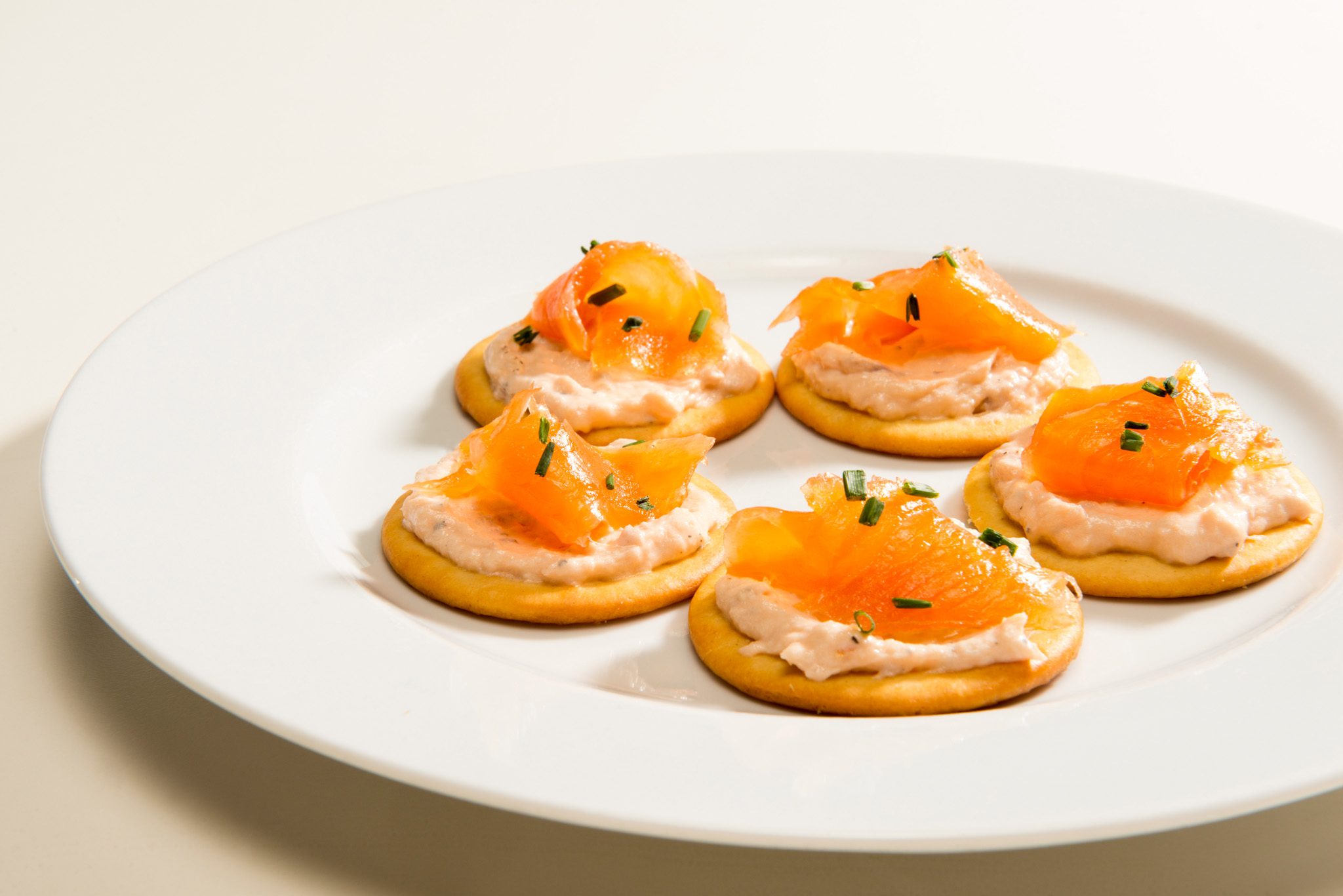 5 quick and easy christmas canap s pat pat for Salmon canape ideas